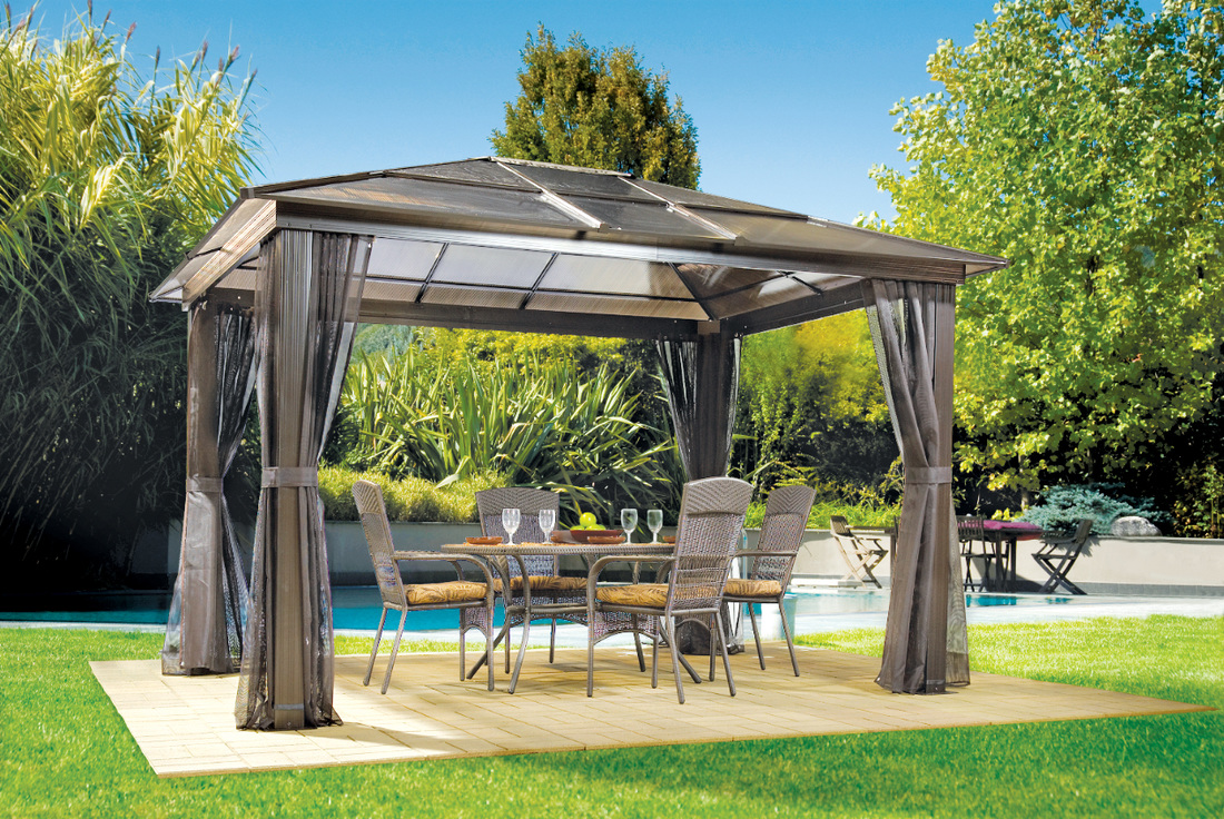 Gazebo Set And Patio Furniture For Outdoors