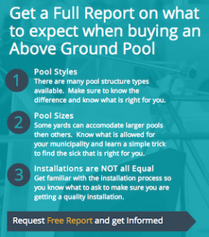 Above Ground Swimming Pools Quote